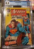 DC Comics ACTION COMICS #400 ~ Superman ~ CGC 8.5 Neal Adams