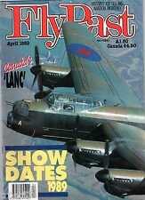 Flypast 1989 April CWH Lancaster,North Coates,Mosquito