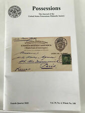 The Journal of the United States Possessions Philatelic Society 4th Qtr 2018