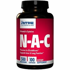 Nac (N-acetil-L-cisteína) - 100 Cápsulas-Jarrow