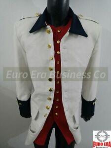 Napoleonic FRENCH GRENADIER LASARRE REGIMENT Frock Coat & Waistcoat