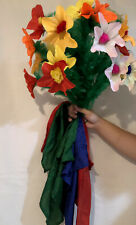 Bouquet Of Flowers From Silk Scarves Stage Magic Trick Illusion