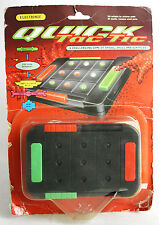 Rare Vintage 1992 Mattel Quick Tac Tic Handheld Electronic Game New Mib !