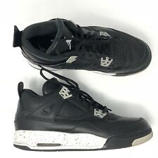 Air Jordan IV Oreo 4 Black Cement Grey Size 7y