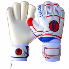 Foxon Goalkeeper Goalie Football Roll Finger Saver Gloves Reinforce Size 9