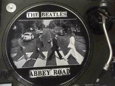 """12""""  VINYL RECORD TURNTABLE FELT  SLIPMAT  THE BEATLES  ABBEY ROAD"""