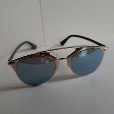 Dior reflected rose fold khaki blue ladies sunglasses