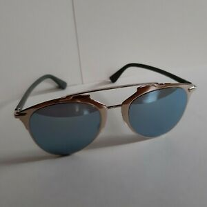 Dior reflected rose fold khaki blue ladies sunglasses