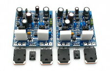 MX40 100W+100W 4ohm stereo Class AB Power amplifier completed board by LJM