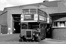 London Transport RTL351 Hounslow Garage Staff Bus Photo Ref P698