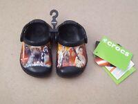 TODDLERS Crocs CC Star Wars Clog Kids Infant Size UK 4-5 EU 19 - 21