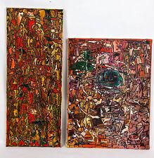 Adrian Bahr - Psychédélique. Peintures à l'huile.