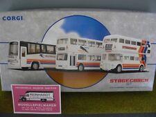 1/64 CORGI Stagecoach Set Plaxton Paramount-Metrobus e AEC Routemaster 97065