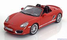 1:18 GT Spirit Porsche Boxster (987) Spyder red ltd. 504 pcs.