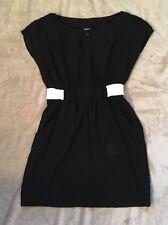 Rue 21 Junior's Short Sleeves Dress size M Black