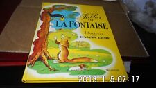 FABLES DE LA FONTAINE / BENJAMIN RABIER / TALLANDIER - preface HERGE-1992 - TBE