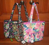 NWT Vera Bradley VILLAGER  tote  travel shoulder bag purse  MSRP 68 RETIRED HTF