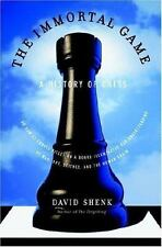 Immortal Game : A History of Chess, or How 32 Carved Pieces on a Board-ExLibrary