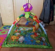 Fisher-Price Rainforest Erlebnisdecke Krabbeldecke und Spielmatte