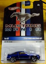 "2010 Hot Wheels ""Muscle Mania"" 2010 Ford Mustang GT, Ships World Wide"