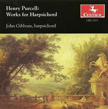 John Gibbons, Henry - Works for Harpsichord [New CD]