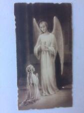 IMAGE PIEUSE ANCIENNE - HOLY CARD  SANTINI - 203
