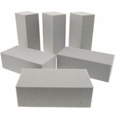 6 Pack Dry Floral Foam Blocks for Artificial Flower Arrangements, Party, Crafts