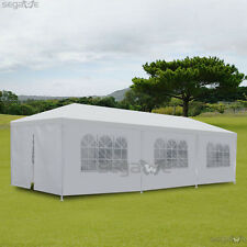 10'x30' 8 Walls Outdoor Wedding Party Patio Canopy Tent Gazebo Pavilion Backyard
