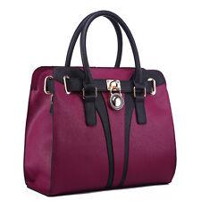 Women's Large Tote Shoulder Bags Ladies Designer Fashion Faux Leather Handbags