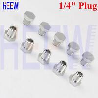 JEGS Performance Products 110432 Aluminum Pipe Plug 3//8 NPT Hex Head Black 1//pkg