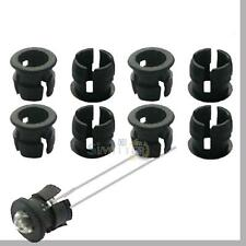 50pcs 5mm Black Plastic LED Clip Holder Case Cup Mounting Holders For 5MM Leds