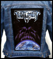 TESTAMENT - The New Order  --- Giant Backpatch Back Patch