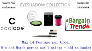 Cool Cos Denmark Paraben Parfum Free Cosmetic EYESHADOW Collection #BargainTrend