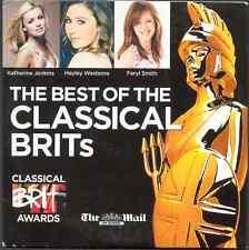 BEST OF THE CLASSICAL BRITS - PROMO CD (2009) BRYN TERFEL / HAYLEY WESTENRA ETC