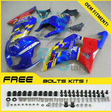 Blue Red GSXR600 Fairing Kit SUZUKI GSXR750 GSX-R600 GSX-R750 2004-2005 65