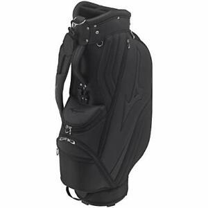 MIZUNO Golf Men's Caddy Bag ST LIGHT 9.5 x 47 inch 2.8kg Black 5LJC210100