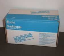 Vintage AT&T Rotary Wall Phone Blue BOX ONLY Refurbished