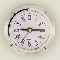 Einsteckuhrwerk Einbau-Uhr RÖMISCHE Einbauuhr Modellbau-Uhr Ø 50 mm Nr.11