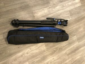 Benro A2573FS4 S4 Video Head and AL Tripod With Flip Lock Legs Kit