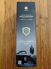 James Bond 007 Bollinger 'No Time To Die' Empty Champagne Gift Box - Rare