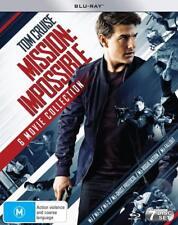 MISSION IMPOSSIBLE 1-6 (1996-2018): COMPLETE -  Aust RegB 7x BLU-RAY 6 Movie Set
