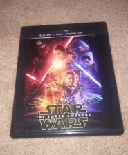 Star Wars the Force Awakens Blu-ray/Dvd Only.  No Digital Code