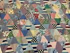 5 Vintage Quilt Tops Toppers Different Designs