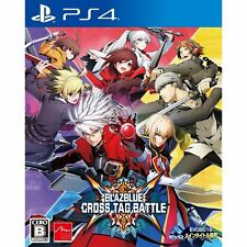 Arc System  Blazblue Cross Tag Battle SONY PS4 PLAYSTATION 4 JAPANESE VERSION