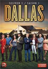 DVD - DALLAS  - SEIZOEN  1  / SEASON  1 / SAISON 1  (2012)  (NEW - NIEUW SEALED)