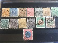Nederland  1891/96 Nr 34/47 Gebruikt