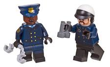 Lego DC Universe Batman Movie 2x Gotham Cop Minifig NEW OPENED from Set 853651