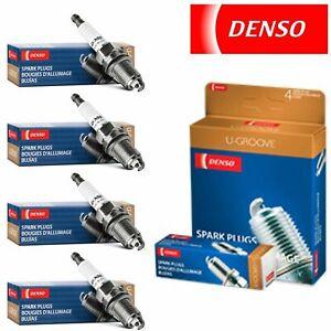 4 New Denso Standard U-Groove Spark Plugs for Renault R17 1.6L L4 1972-1975