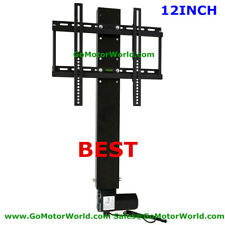 Motorized Tv Lift With Remote Control 12INCH Height Adjustable free shipping