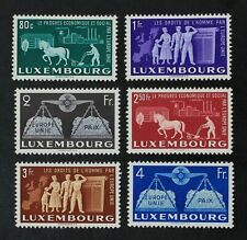 CKStamps: Luxembourg Stamps Collection Scott#272 277 Mint H OG